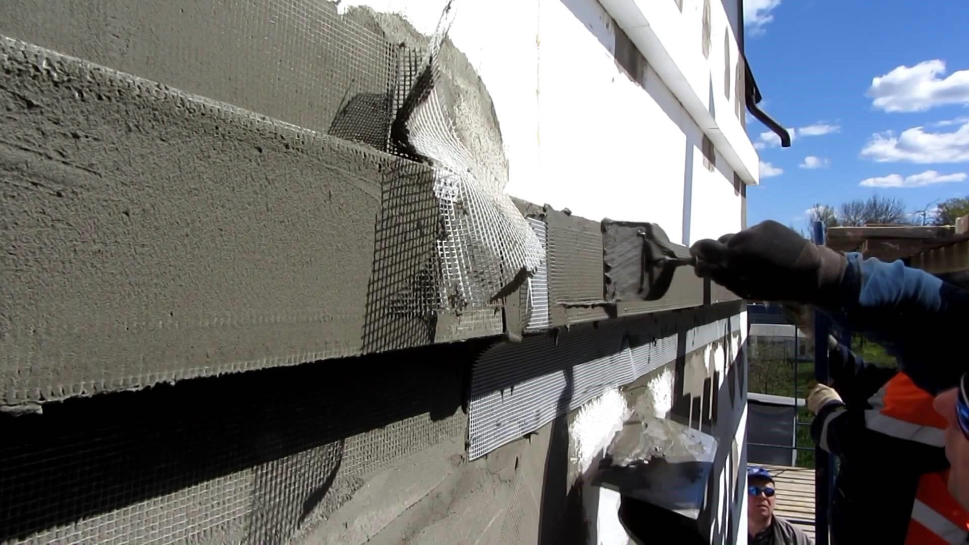 Материал для наружного утепления стен